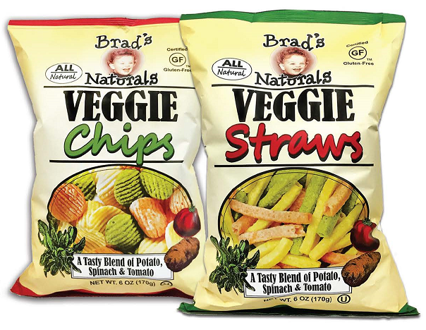 Veggie Chips and Straws