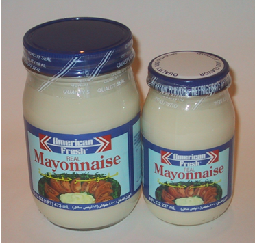 American Fresh Mayonnaise for Export